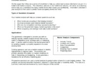 Market Report Sample Survey Format Stock Analysis Pdf in Stock Analysis Report Template