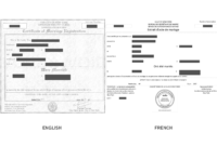 Marriage Certificate Translation Sample – Richard Gliech pertaining to Marriage Certificate Translation Template