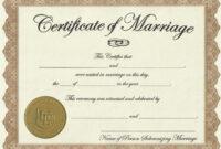 Marriage-License-Printable-Achievement-Certificate-Template with Certificate Of License Template