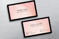 Mary Kay Business Cards | Beauty Business Cards, Free within Mary Kay Business Cards Templates Free