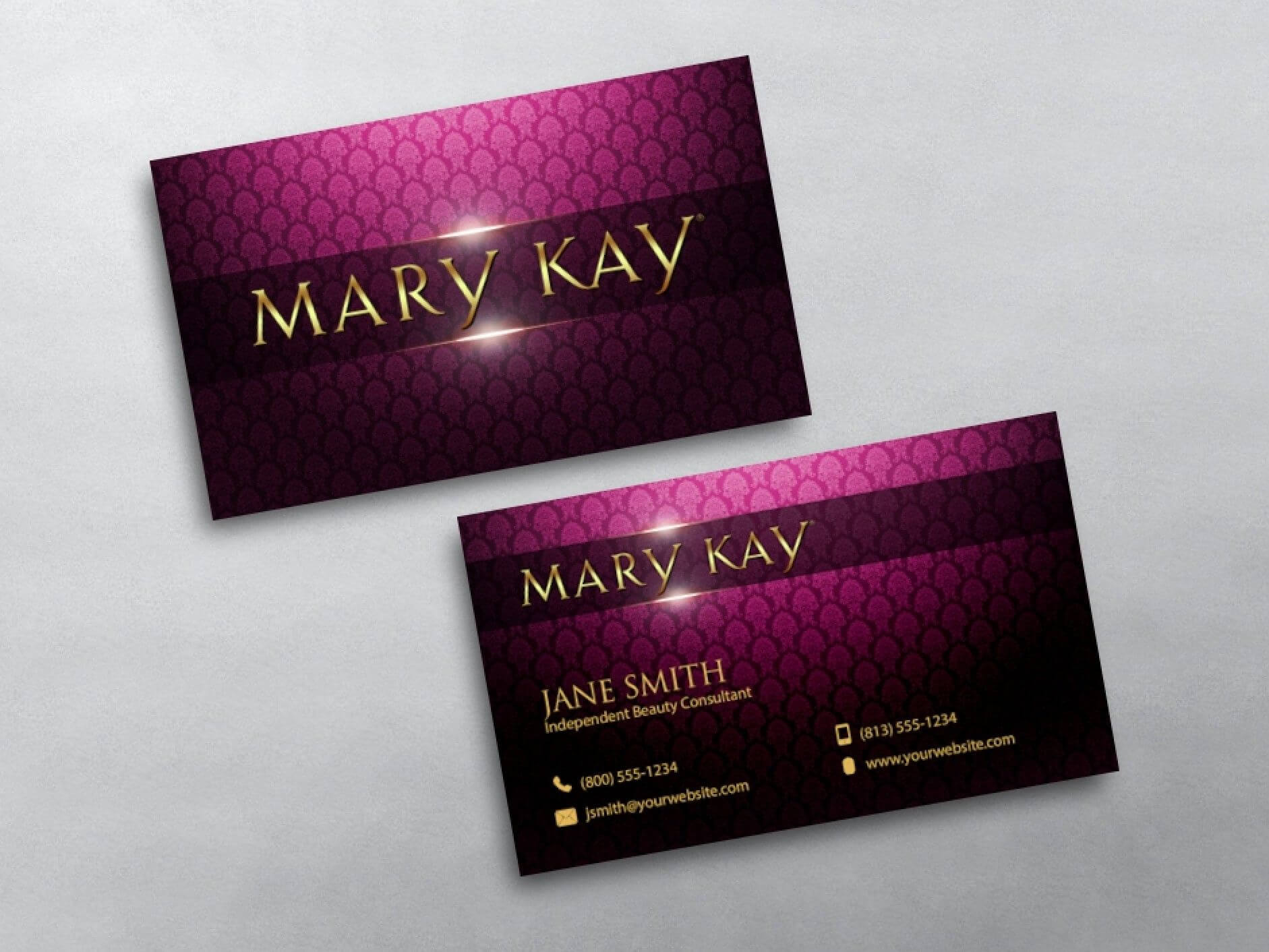 Mary Kay Business Cards | Mary Kay, Free Business Card Within Mary Kay Business Cards Templates Free