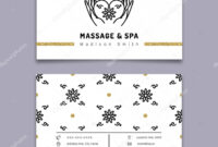 Massage Therapy Business Card Templates | Massage And Spa With Regard To Massage Therapy Business Card Templates