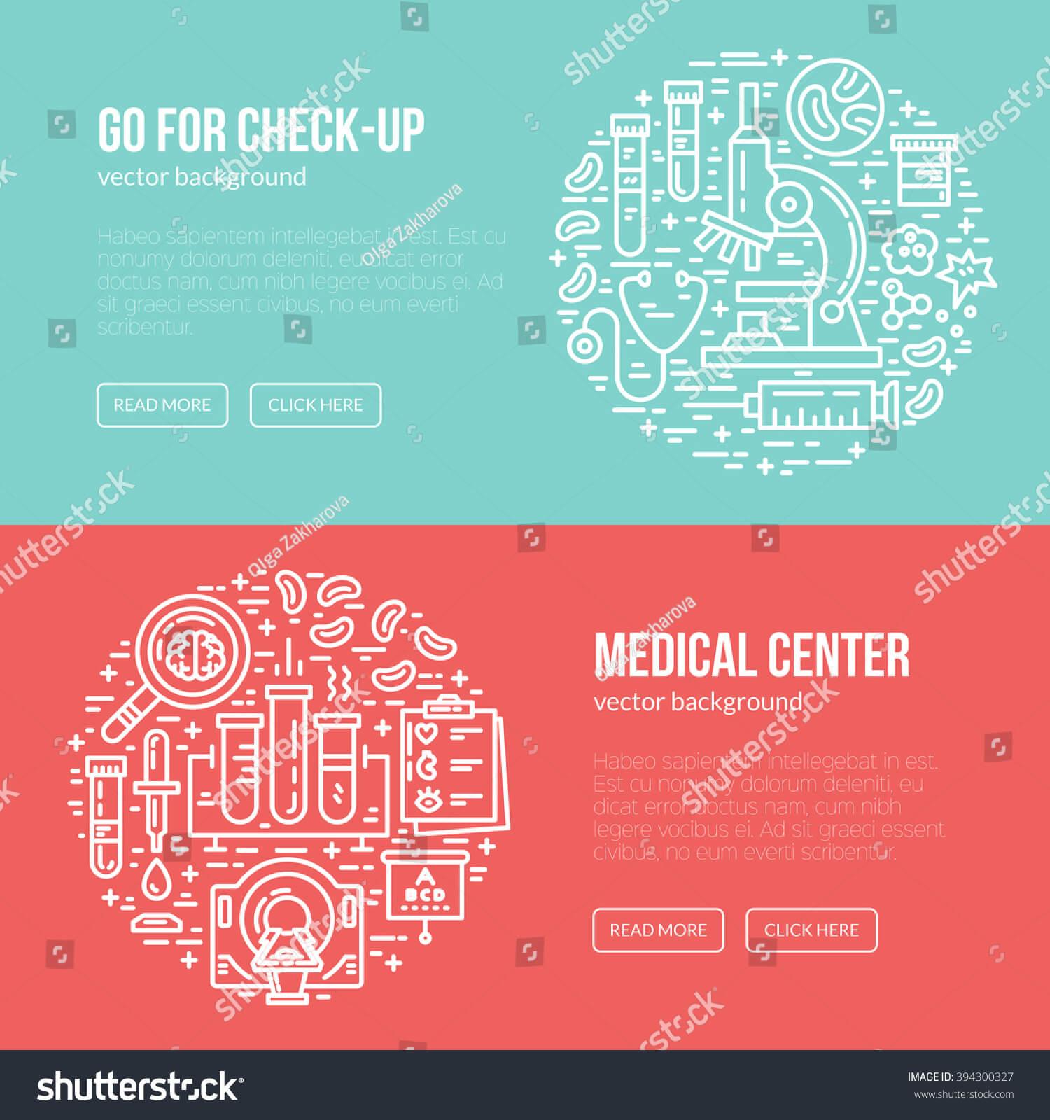 Medical Banner Design Template Different Research Stock Throughout Medical Banner Template