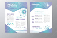 Medical Brochure – Leaflet Stock Vector. Illustration Of in Healthcare Brochure Templates Free Download