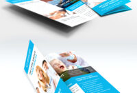 Medical Care And Hospital Trifold Brochure Template Free Psd for Pharmacy Brochure Template Free