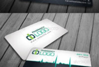 Medical / Pharma / Doctor Business Card | Business Card with Medical Business Cards Templates Free