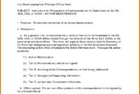 Memo Template Army | Free Resume Example in Army Memorandum Template Word