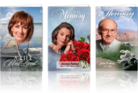 Memorial Program Template throughout Memorial Cards For Funeral Template Free