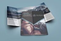 Mercedes-Benz Open Gate Fold Brochure On Behance | Hotel with Gate Fold Brochure Template Indesign