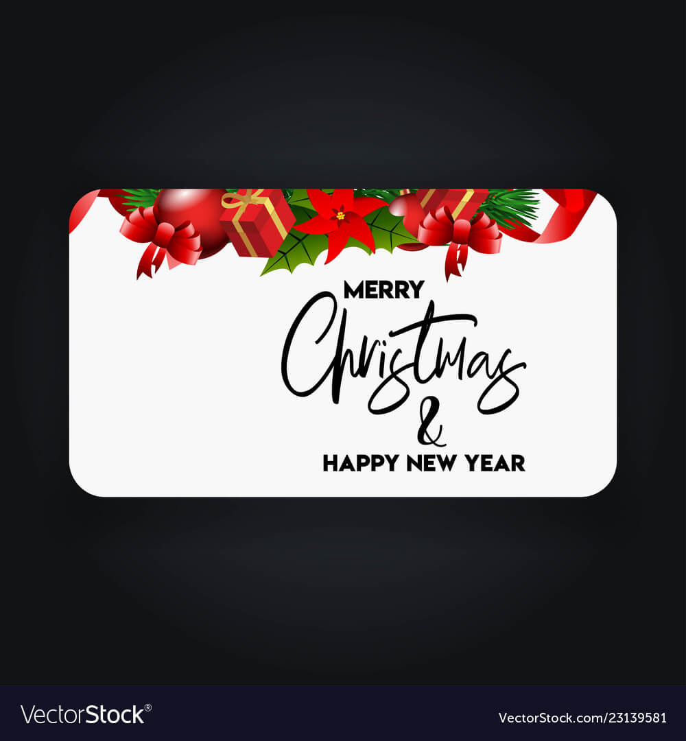 Merry Christmas 2019 Banner Template With Regard To Merry Christmas Banner Template