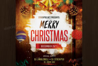 Merry Christmas – Free Psd Flyer Template | Free Psd Flyer with regard to Christmas Brochure Templates Free