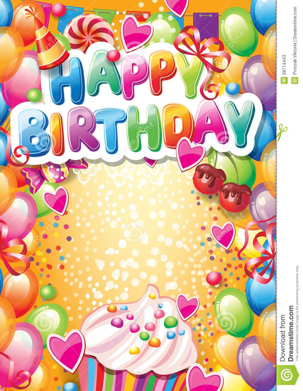Microsoft Birthday Card Templates ] – Invitations 15Th Regarding Birthday Card Template Microsoft Word
