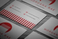Minimal 2-Color Hairdresser Business Card Template #mens pertaining to Hairdresser Business Card Templates Free