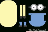 Minion Party Ideas   Printable Template   Minion Template with regard to Minion Card Template