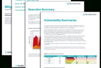 Mitigation Summary Report – Sc Report Template | Tenable® within Risk Mitigation Report Template