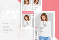 Modeling Comp Card | Fashion Model Comp Card Template In Comp Card Template Download