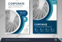 Modern Blue Brochure Vector & Photo (Free Trial) | Bigstock pertaining to Technical Brochure Template