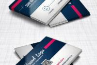Modern Business Card Design Template Free Psd | Modern within Visiting Card Templates Psd Free Download