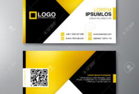 Modern Business Card Design Template. Vector Illustration inside Modern Business Card Design Templates