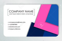 Modern Business Card Template. Business Cards With Company Logo pertaining to Call Card Templates