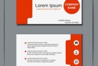 Modern Business Visiting Card Design regarding Download Visiting Card Templates