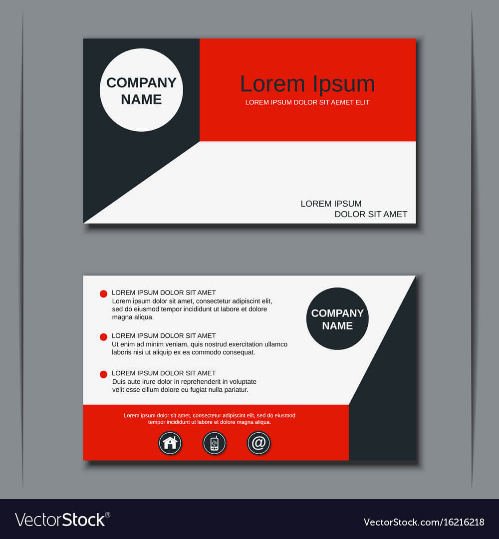 Modern Business Visiting Card Design With Designer Visiting Cards Templates
