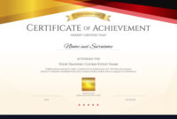 Modern Certificate Template With Elegant Border within High Resolution Certificate Template