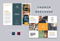 Modern Church Trifold Brochure – Brochures | Modern Church regarding Welcome Brochure Template