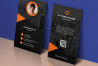 Modern Corporate Business Card Template Psd – Download Psd regarding Name Card Template Psd Free Download