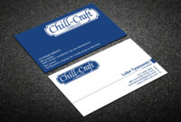 Modern, Professional, Hvac Business Card Design For Chill For Hvac Business Card Template