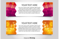 Modern Style Web Banner Templates – Download Free Vectors intended for Website Banner Templates Free Download