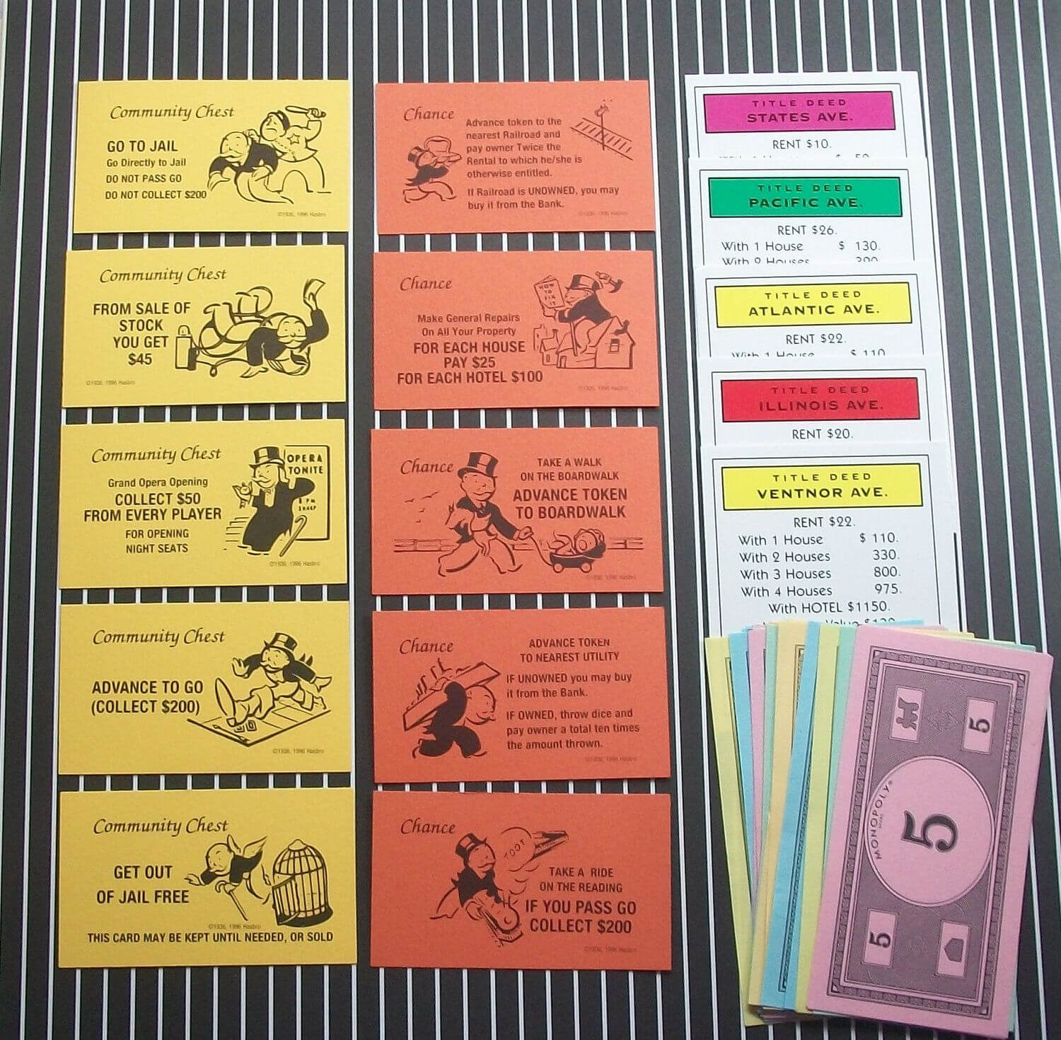 Monopoly Chance Cards | Monopoly Party, Monopoly, Cards With Monopoly Chance Cards Template