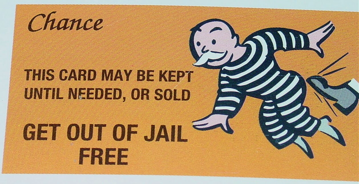 Monopoly Get Out Of Jail Free Card Template ] - Monopoly Get With Regard To Get Out Of Jail Free Card Template