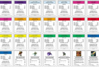 Monopoly+Property+Cards+Template | Monopoly Cards, Printable with Monopoly Chance Cards Template