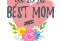 Mothers Day Greeting Card Template inside Mom Birthday Card Template