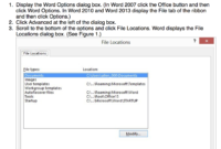 Mouse Training London Ltd: Word – Cannot Open Multiple Word for Word Cannot Open This Document Template