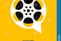 Movie And Film Festival Poster Template Design Modern Retro within Film Festival Brochure Template