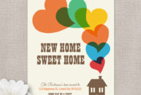 Moving Home Cards Template ] – Change Of Address New House in Moving Home Cards Template