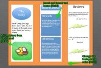 Mrteacherkevin | Microsoft Word Tutorial #2: Make A Brochure in Office Word Brochure Template