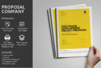 Ms Word Project Proposal Brochure Template | Web Design with regard to Free Business Proposal Template Ms Word
