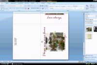 Ms Word Tutorial (Part 2) – Greeting Card Template In Birthday Card Template Microsoft Word