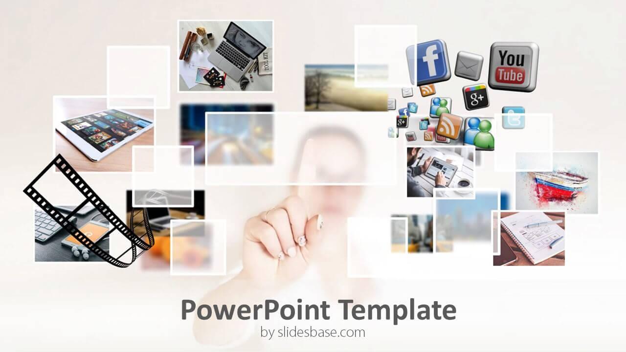 Multimedia Powerpoint Template In Multimedia Powerpoint Templates