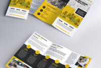 Multipurpose Tri Fold Brochure Psd Template | Pamphlet With Regard To Brochure Psd Template 3 Fold