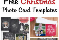Musings Of An Average Mom: Free Photo Christmas Card Templates pertaining to Free Christmas Card Templates For Photographers