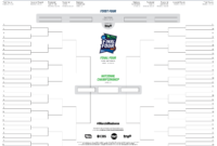 Ncaa Basketball Bracket Template – Forza.mbiconsultingltd with Blank Ncaa Bracket Template
