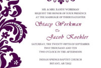 Neat And Simple | Free Wedding Invitation Templates, Free regarding Free E Wedding Invitation Card Templates