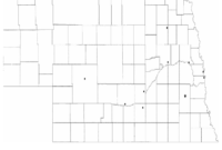 Nebraska Map Template – 8 Free Templates In Pdf, Word, Excel throughout Blank City Map Template