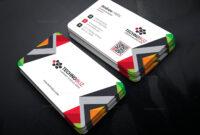 Nereus Creative Corporate Business Card Template 001359 for Company Business Cards Templates