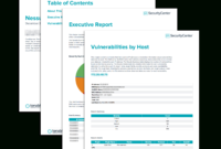 Nessus Scan Report – Sc Report Template | Tenable® With Nessus Report Templates