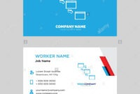 Networking Business Card Design Template, Visiting For Your with Networking Card Template